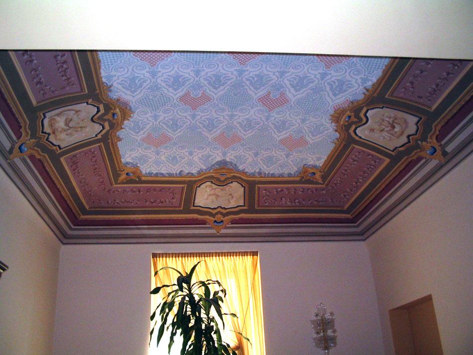 42A-affresco-soffitto-abitazione-privata