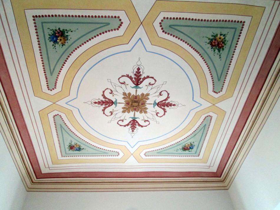 Decorazione soffitto battaglini decorazioni - Decorazioni soffitto ...
